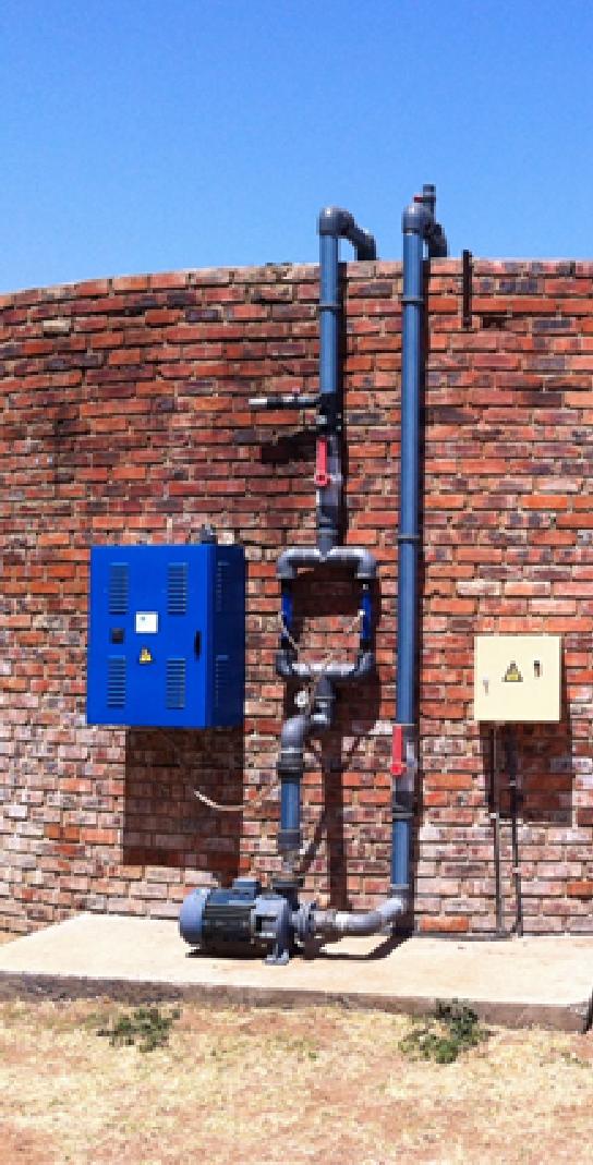 Waterfiltratiesysteem voor Zuid-Afrika